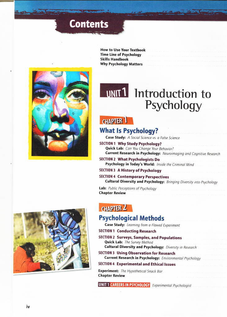 HMH Social Studies Psychology