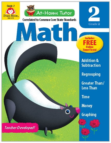 At-Home Tutor Math Gr.2