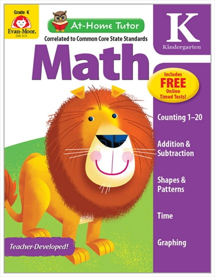 ○At-Home Tutor Math Gr.k