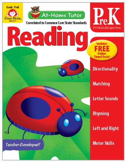 At-Home Tutor Reading Gr.prek