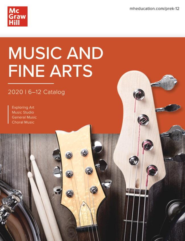 McGraw Hill 小学校・中学校・高校 音楽教科書