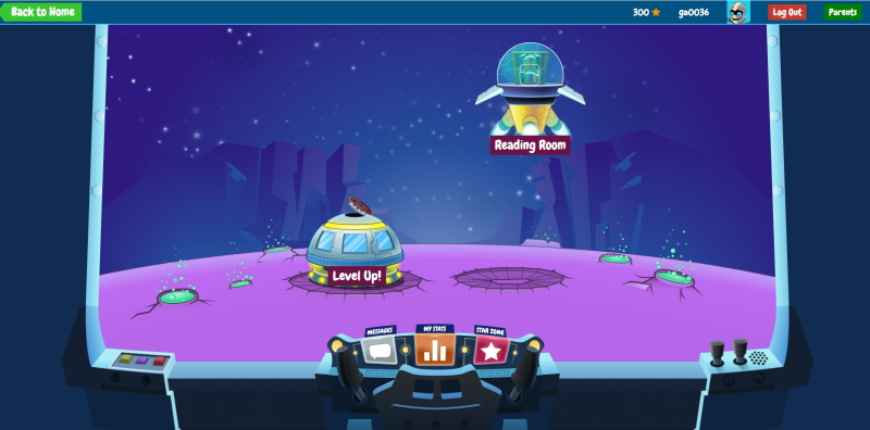 Raz-Kidsログイン画面